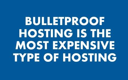 Bulletproof hosting service