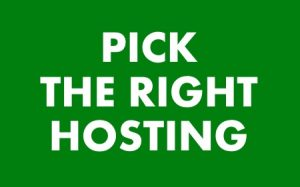 Make sure you pick the right hosting that can handle the traffic.